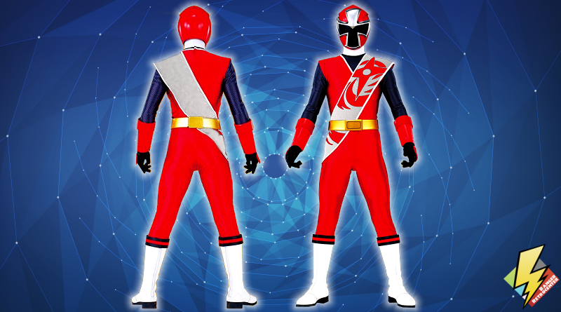 Ninja Steel Red Ranger (Second)