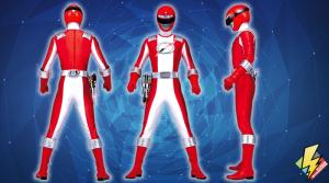 Red Overdrive Ranger