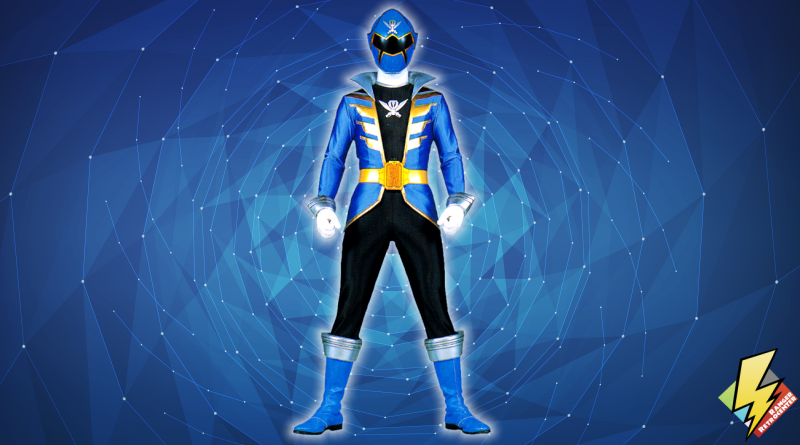 Super Megaforce Blue Ranger