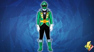 Super Megaforce Green Ranger