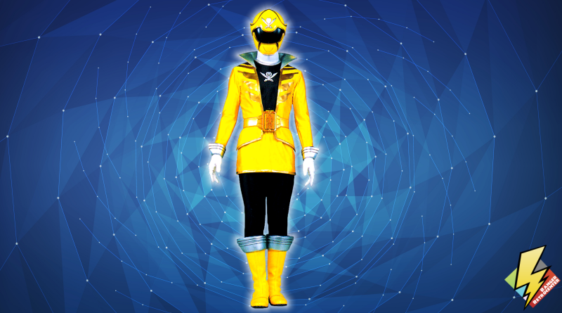 Super Megaforce Yellow Ranger