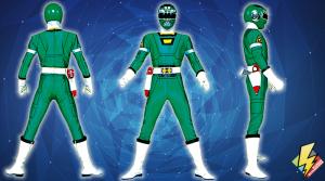 Green Turbo Ranger