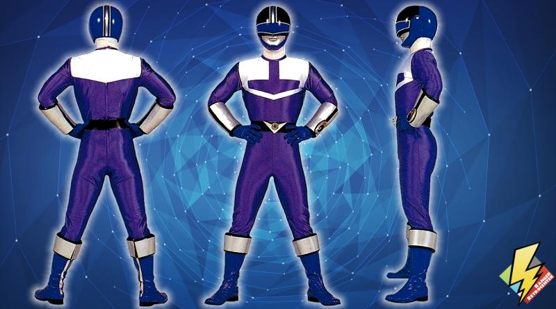 Time Force Blue Ranger