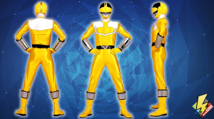 Time Force Yellow Ranger
