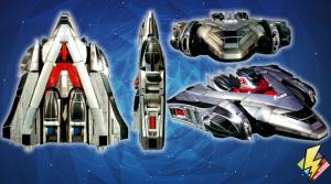 Time Force Megazord Jet Mode