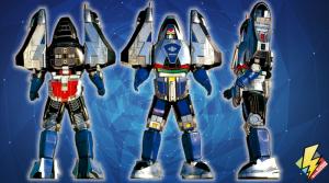 Time Force Megazord Mode Blue