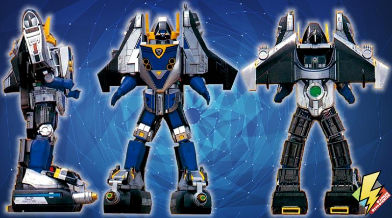 Shadow Force Megazord Mode Blue