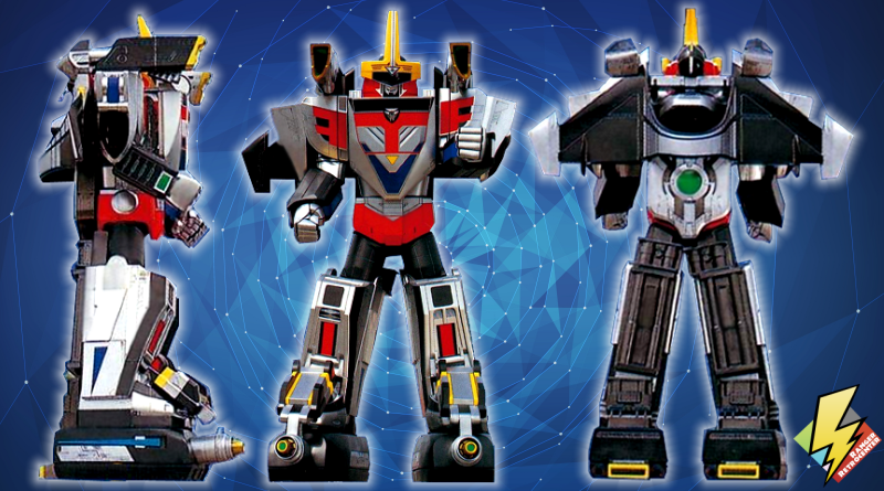 Shadow Force Megazord Mode Blue