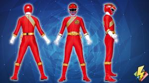 Red Wild Force Ranger