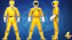 Yellow Wild Force Ranger