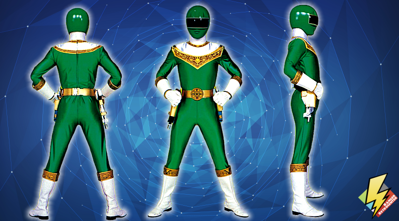 Zeo Ranger IV Green