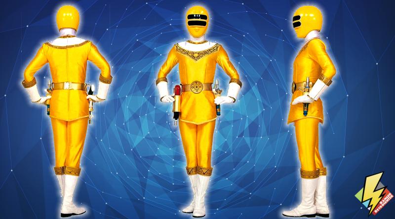Zeo Ranger II Yellow