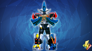 Jungle Master Megazord with Shark Power