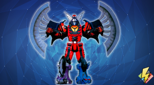 Wolf Pride Megazord with Bat Power