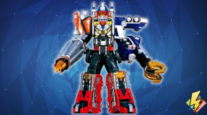 Drivemax: Megazord: Drill and Crane Formation