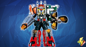 Drivemax Megazord: Drill and Mixer Formation