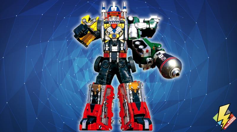 Drivemax Megazord: Mixer Formation