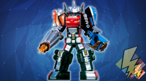 Flash Point Megazord: Drill and Shovel Formation