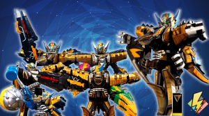 Ptera Charge Megazord Modes