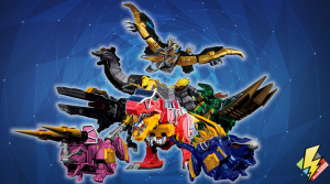 Dino Charge Zords