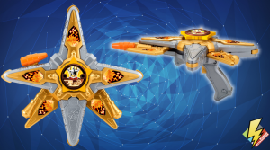 Gold Ninja Battle Morpher