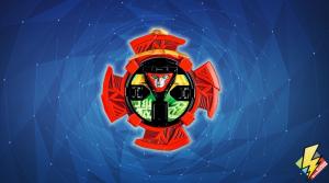 Robo Red Zord Star