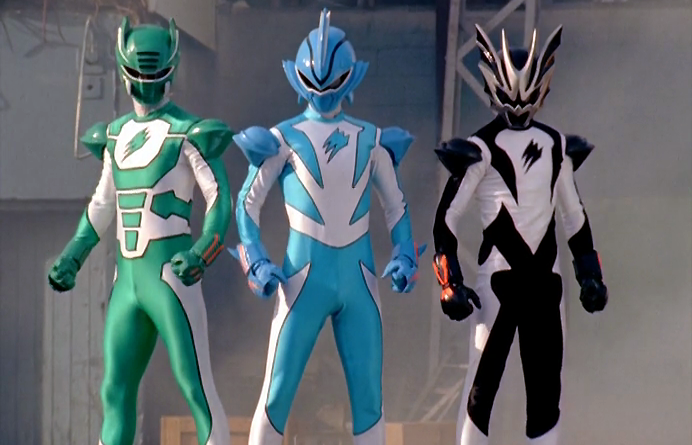 Power Rangers - 16x23 - Fear and the Phantoms