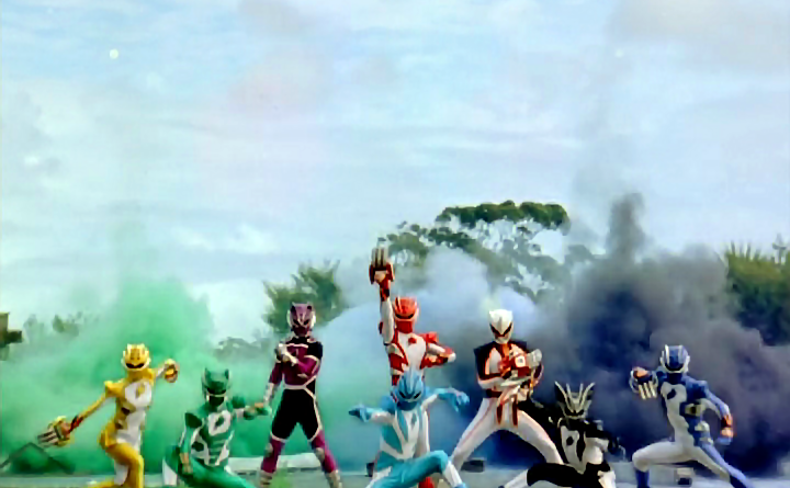 Power Rangers - 16x25 - One Last Second Chance
