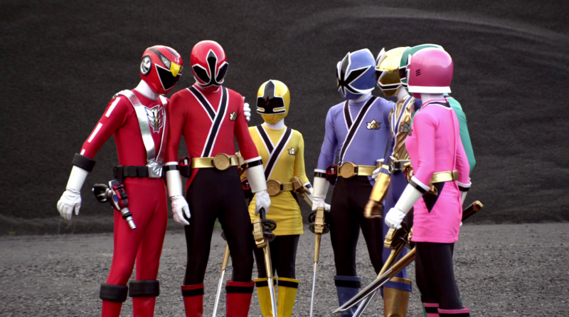 Power Rangers - 18x22 - Clash Of The Red Rangers