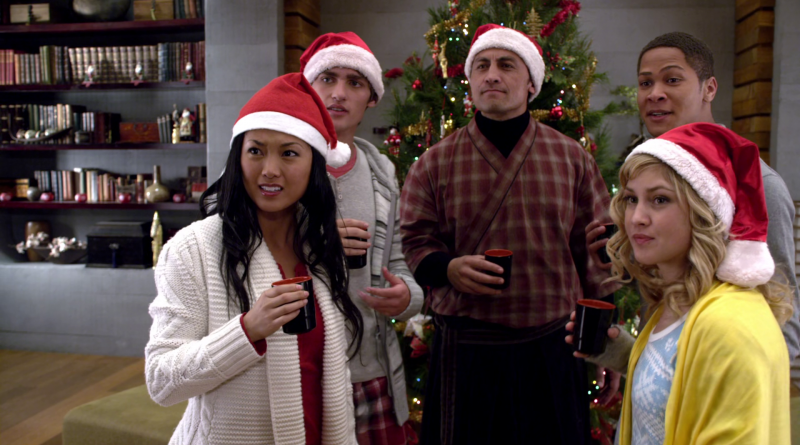 Power Rangers - 18x23 - Christmas Together, Friends Forever
