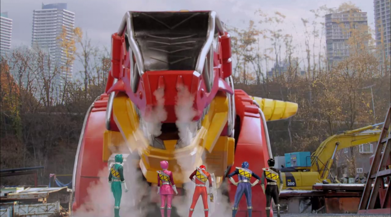 Power Rangers - 22x02 - Past, Present and Fusion