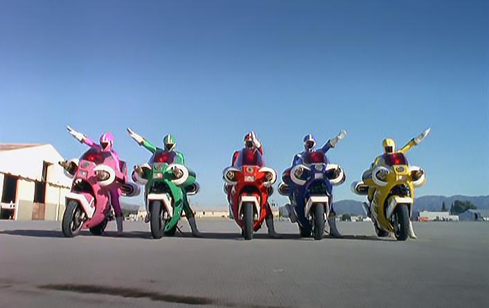 Power Rangers - 8x06 - Wheels of Destruction