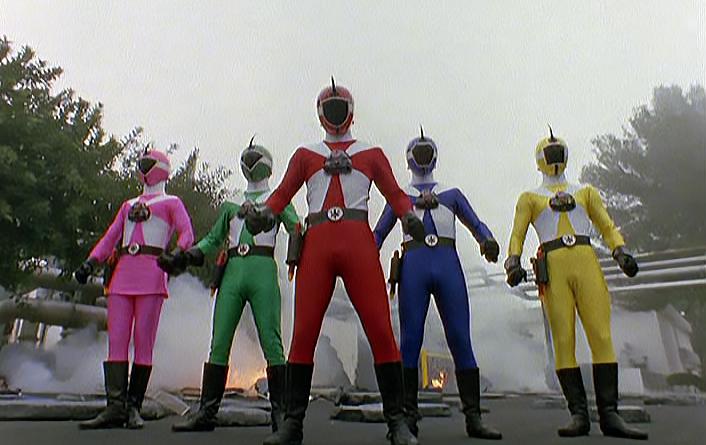 Power Rangers - 8x07 - Cyborg Rangers