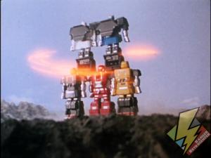 Shogunzord Tower Attack