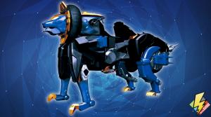 Beast-X King Zord Lion Mode