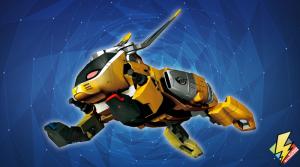 Chopper Zord Jackrabbit Mode