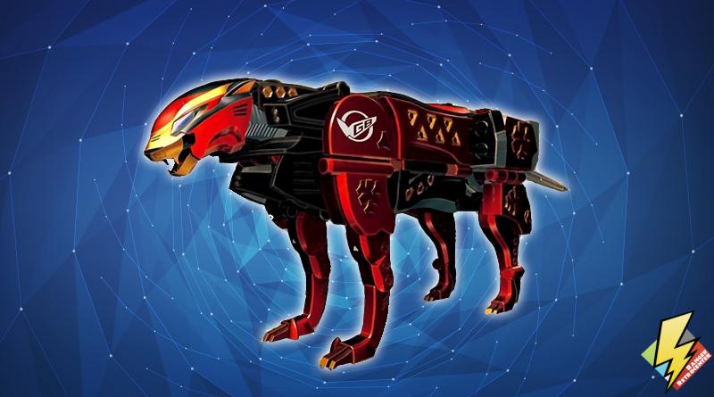 Racer Zord Cheetah Mode