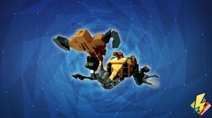 Wrecker Zord Mantis Mode