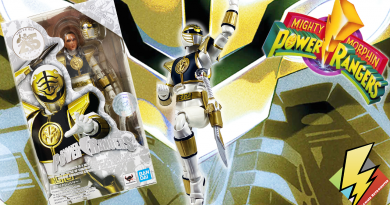 SH Figuarts WHITE RANGER Gallery