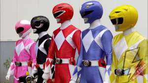 Super Megaforce in Mighty Morphin Mode