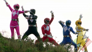 The Mighty Morphin Power Rangers join the Legendary Battle