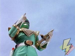 Green Ranger retrieves the Dragon Dagger