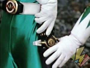 The holstered Dragon Dagger
