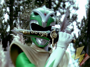 Coma Green Ranger with the Dagger