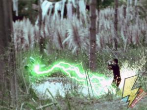 The Dragon Dagger firing lightning