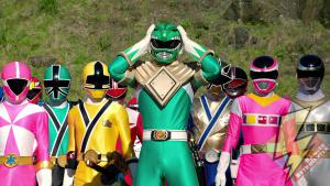 Green Ranger in the Legendary Battle