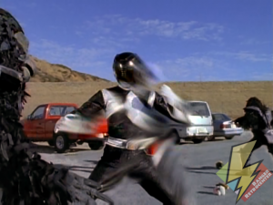 Black Ranger flash moving