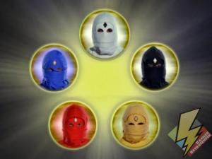 Fully transformed Ninja Rangers