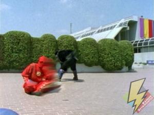 Red Ninja flash move