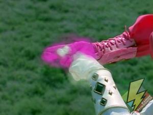 Combining White and Pink Ninja Laser power